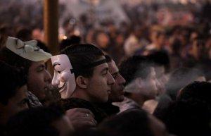 تظاهرات جوانان مصری علیه مرسی