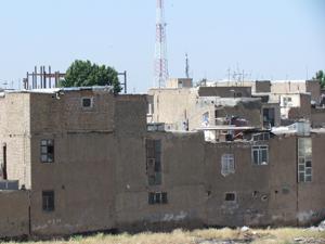 نمایی از محله هادی آباد در قزوین