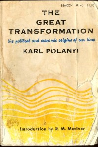 POLANYI KARL - The Great Transformation - v.1.0