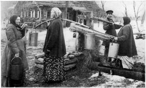 روستای روسیه در دوران تزاری