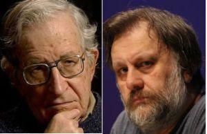 Noam-Chomsky-and-Slavoj-Žižek