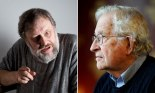 Slavoj Zizek and Noam Chomsky
