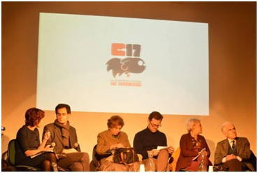 از راست: ماریو ترونتی، ماریا لوییزا بوچا، پیتر توماس و لوچانا کاستلینا