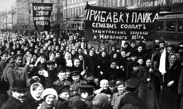 russia revolution women