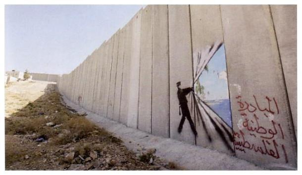grafittyonapartheidwall