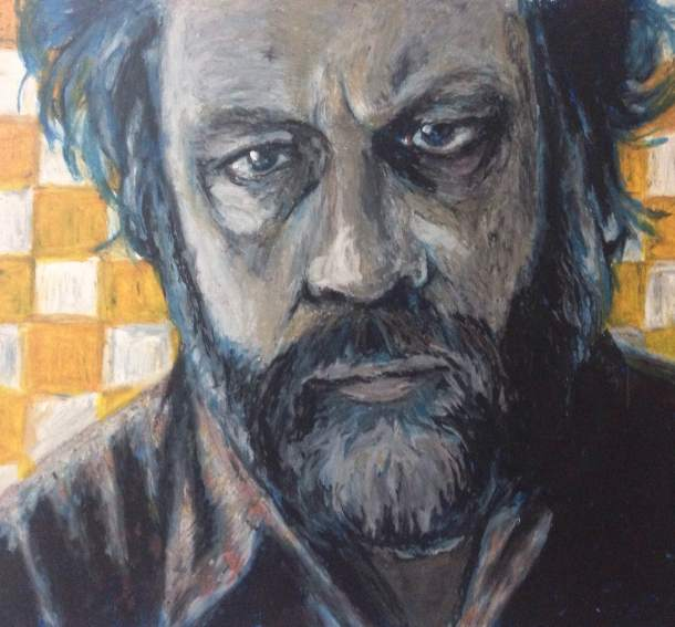 Zizek by Woodrow Cowher